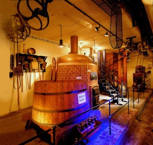 Brewing room, Maisel Brewery and Cooperage Museum in Bayreuth