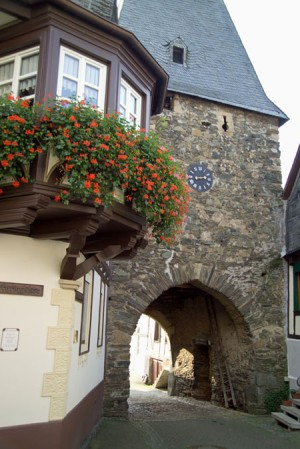 Herrstein: clock tower