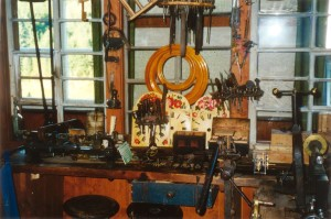 Clockmaker's workshop in Gütenbach