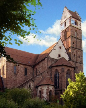 Exterior of Alpirsbach Abbey