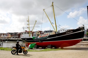North route: Husum harbour
