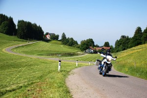 South route: Lake Bodensee region
