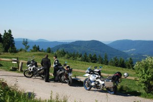 South route: Schonach in the Black Forest