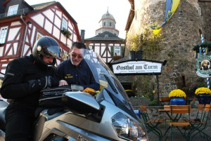 West route: Taunus Bike Tour in Braunfels, Lahn, Gasthof Am Turm inn