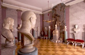 The Count Erbach Castle Collections at Erbach Castle (Gräfliche Sammlungen Schloss Erbach): hall of antiquities