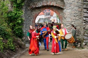 The Nibelungen Procession at Lindenfels Castle