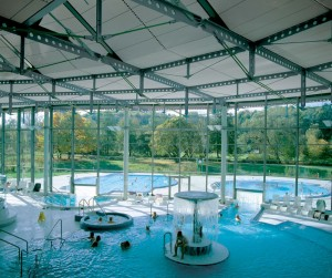 Bad Waldsee: interior of spa