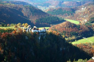 Wildenstein Castle near Leibertingen in the Danube Valley