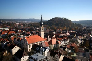 View of Tuttlingen city