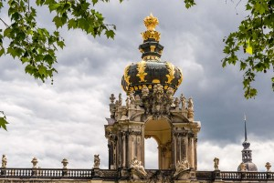 Silver Road - Crown Gate at the Dresden Zwinger Palace