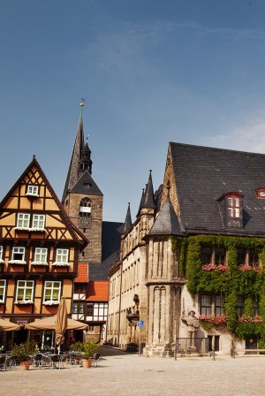 Romanesque Road - Quedlinburg