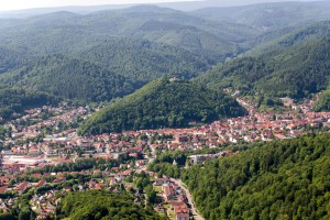 Bad Lauterberg and its mountain in the Harz region