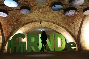 "Dömitz: The Exhibition ""Im Grunde"" in the casemate Greif on the fort of Dömitz"