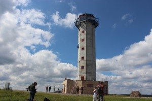 Schneekopf observation tower in summer