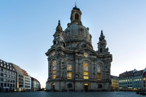 The Church of Our Lady in Dresden