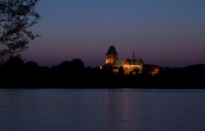 Ratzeburg Cathedral at night