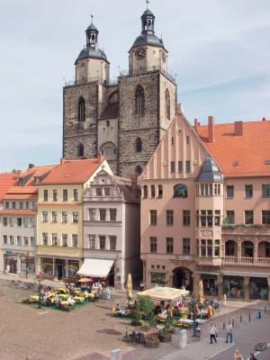The Luther Trail, Town Church in Wittenberg