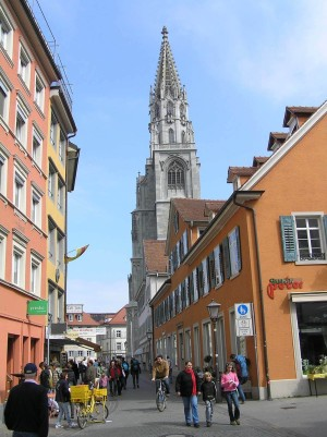 Konstanz, the Old Town with its minster in the background