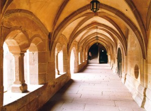Maulbronn Monastery, cloister in the former Cistercian abbey