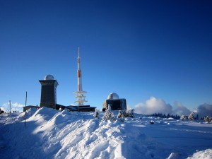 On the Brocken mountain