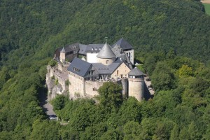 Waldeck Castle in Kellerwald-Edersee National Park
