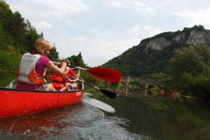 Baden-Würrtemberg, canoeing on the Danube