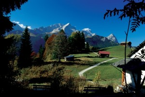 Bavaria, Golden autumn in the Alps