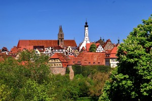Rothenburg ob der Tauber, Panoramic view
