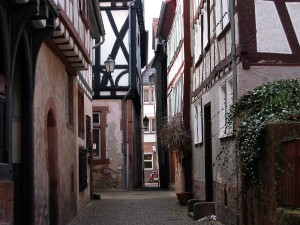 Büdingen, old quarter