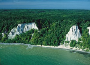 Island of Rügen, the chalk cliffs of the Stubbenkammer promontory