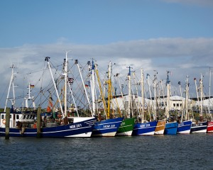 Norddeich, fishing boat