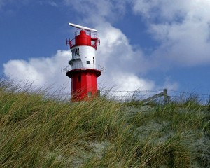 North Sea, lighthouse