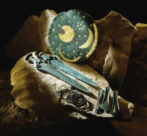 Saxony-Anhalt, Reconstruction of finds from the Nebra hoard
