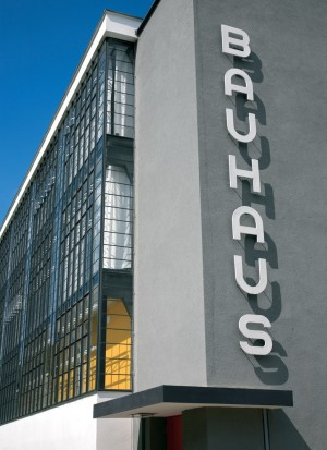 Dessau-Rosslau, the Bauhaus