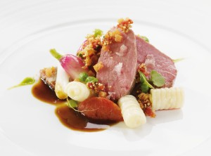 Ophelia in the Riva hotel - lamb with potato gnocchi
