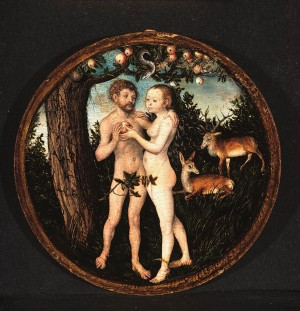 Lucas Cranach's 'Adam and Eve' in the Palatinate Museum