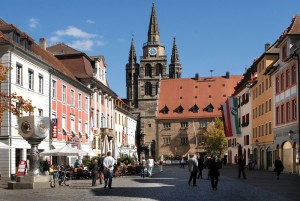Ansbach, downtown