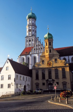 Augsburg, Basilica of St. Ulrich and St. Afra