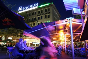 Bochum, restaurants and cafés in the 'Bermuda triangle'