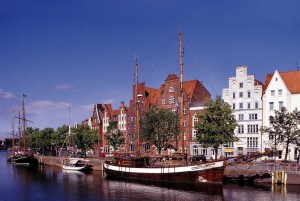 Lübeck/Baltic coast: Museum harbour