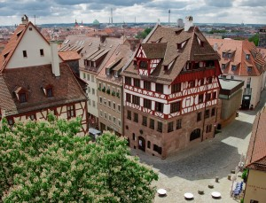 Nuremberg, view of Albrecht Dürer House
