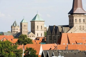 Osnabrück: St Peter's Cathedral and Church of St Mary