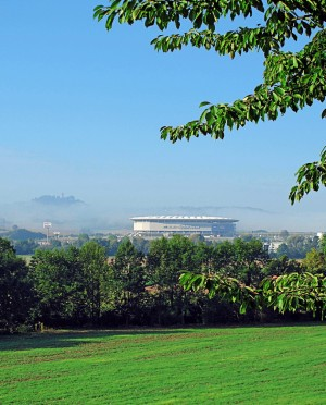 View of the Rhein-Neckar Arena