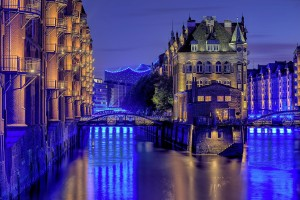 Speicherstadt and Elbe Philharmonic Hall