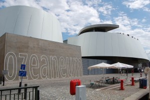 Close-up view of the Ozeaneum