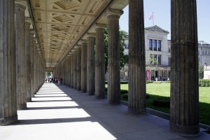 Colonnades square, Museum Island, Berlin