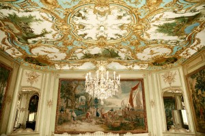 Augustusburg Palace, audience chamber