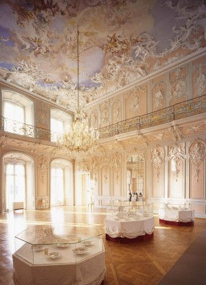 Augustusburg Palace, dining and music hall