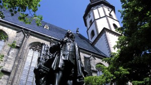 Bach Monument in front of St. Thomas Church
