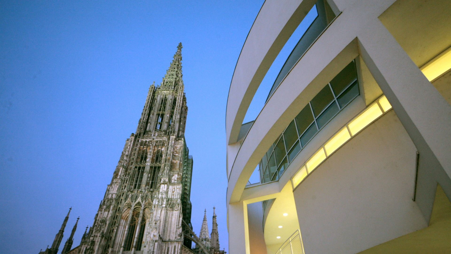 Ulm: Cathedral and townhall